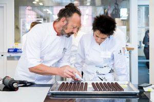 Derek Poirier. Course chocolate bonbons. L'École Valrhona brooklyn