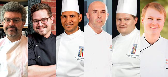 The USA team for the Coupe du Monde de la Pâtisserie will be decided in August