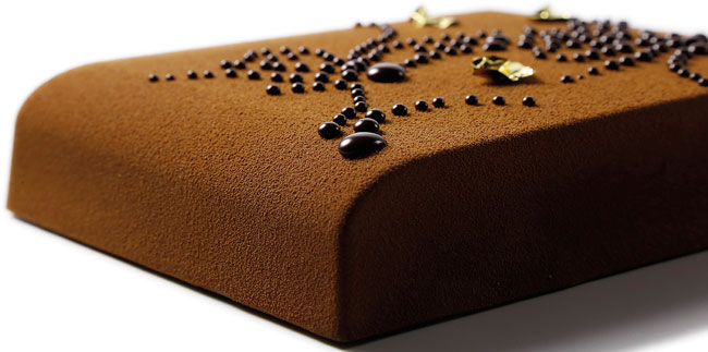 Chocolate tart's Frédéric Bau