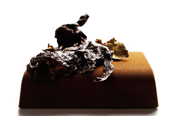 Chocolate tart by Frédéric Bau