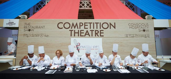 A new edition of the UK Pastry Open
