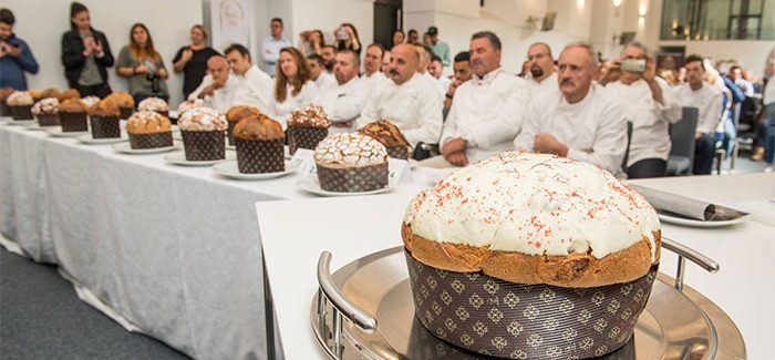 Maistrello and Anastasio, winners of Panettone Day 2017