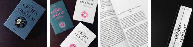 """Pages """"Les Génies du Chocolat"""""""