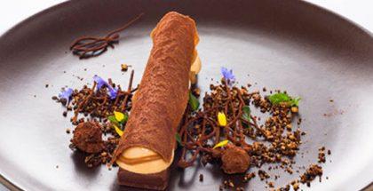 Vincent Attali's plated dessert