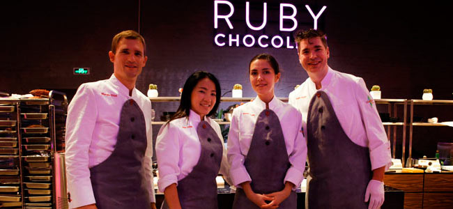 Barry Callebaut presents its new Ruby chocolate in Shanghai
