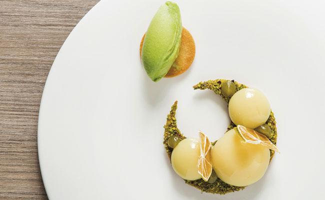 yuzu yolks by andrés morán