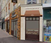 facade shop Bellanger rue de l'Etoile in Le Mans