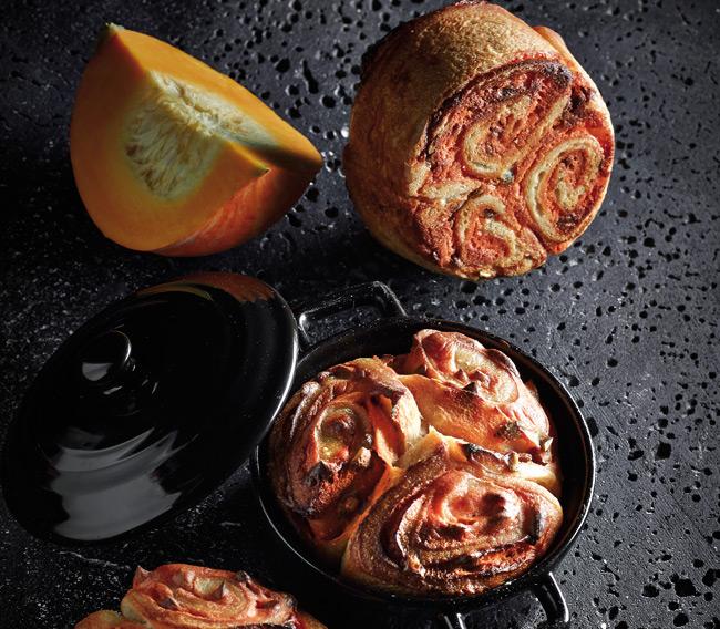 Pumpkin butter bread by Gérard Dubois