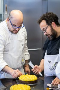 antonio Bachour and Carles Mampel at L'École Valrhona Brooklyn
