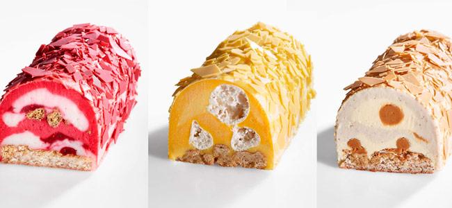 Jérémie Runel's monochromatic ice cream bûches