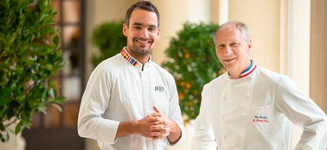 Julien Álvarez, new pastry chef at Le Bristol Paris