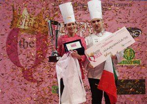 silvia boldetti, award Pastry Queen