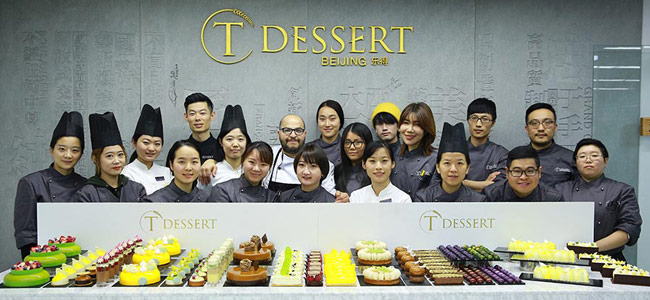 All of Antonio Bachour's repertoire at the T Dessert in Beijing