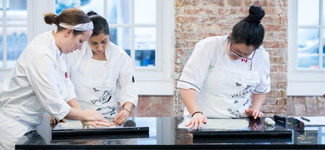 L'École Valrhona Brooklyn programs 25 exclusive pastry classes for 2018