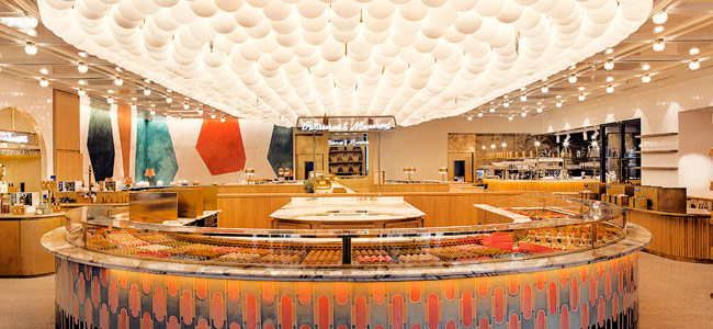 86Champs, the gourmet space of Pierre Hermé and L'Occitane