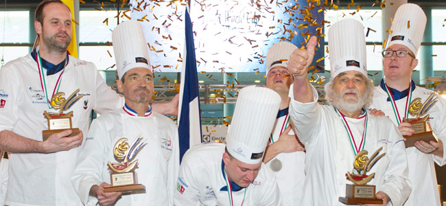 France returns to the podium of the Gelato World Cup