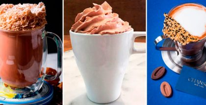 collage recipes hot chocolate Valrhona