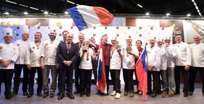 Podium Masters de la Boulangerie 2018
