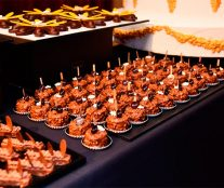 Sweet petits-fours at the Goûter des Chefs