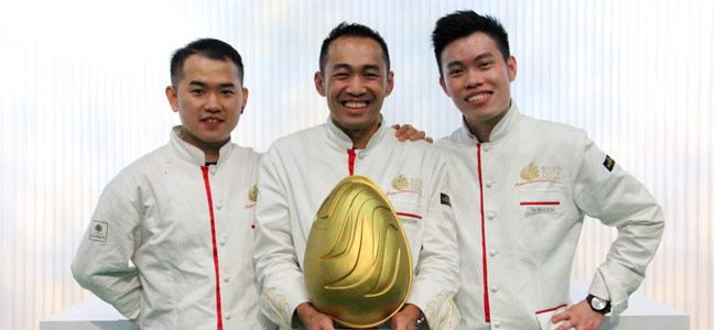 Malaysia wins the Asian Pastry Cup 2018
