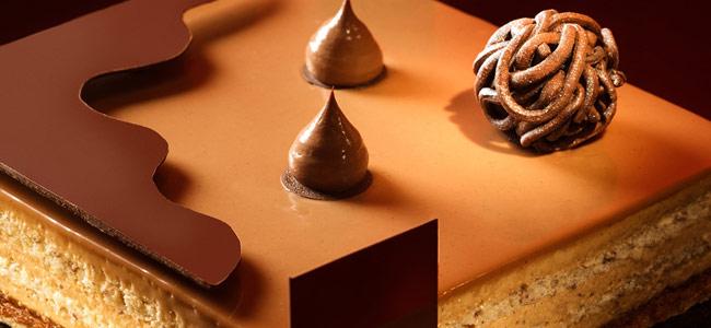Hazelnut praline by Richard Long