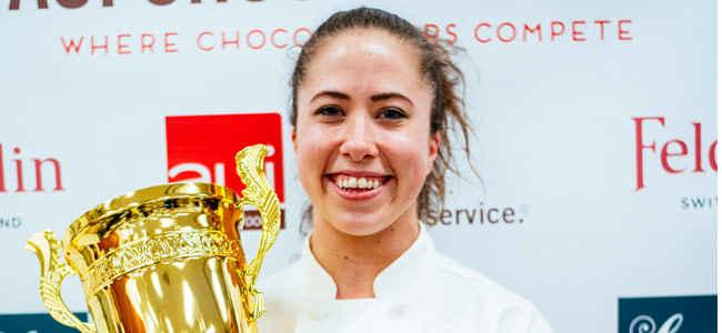 Courtney Cormier wins the AUI Chocolate Cup 2018