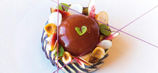 Figs and hazelnuts by Nicolas Lambert