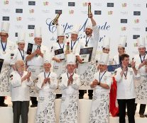 The podium European Pastry Cup