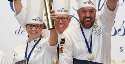 sweden wins European Pastry Cup