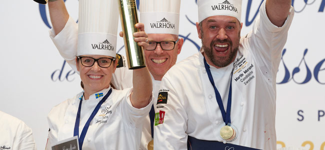 Sweden wins the European Pastry Cup