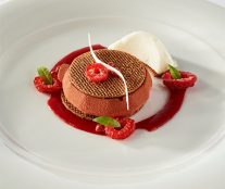 Switzerland's plate European Pastry Cup