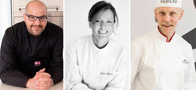 Eight great pastry chefs will decide the winner of Valrhona C3