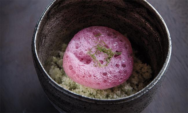 Siciliano's shisho rhubarb