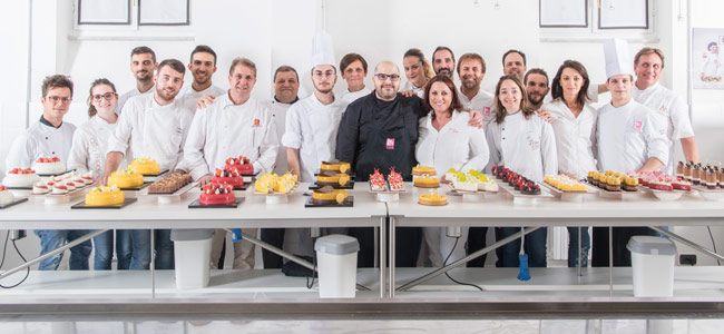 Antonio Bachour premieres at the Italian school iCook