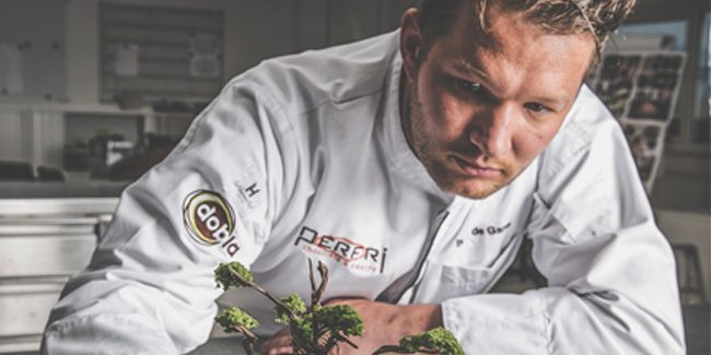 "Bart de Gans: ""My aim is to go with the new developments in pastry"""