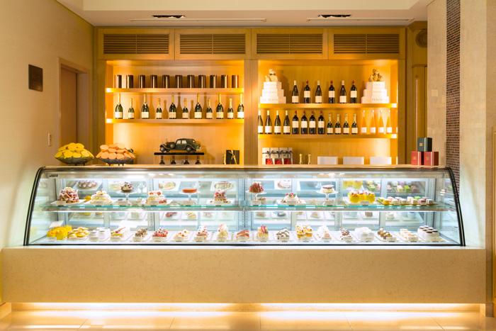 The Peninsula Boutique café counter