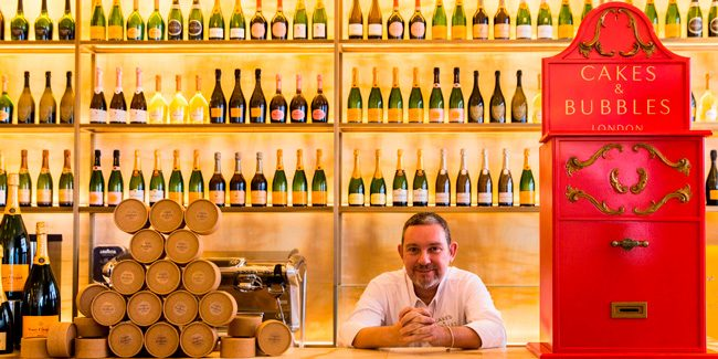 Albert Adrià opens Cakes & Bubbles in London
