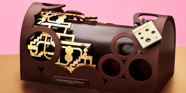 Bûche Rêve d'Ailleurs by La Maison du Chocolat