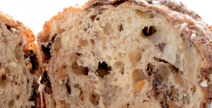 panettone close up