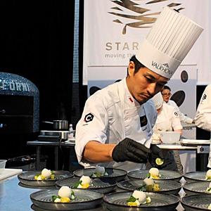 yusuke Aoki assembling pre-desert