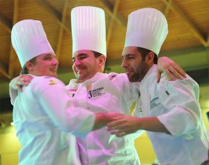 The Italian team, led by Davide Malizia, won the fifth edition of the World Junior Pastry Championship