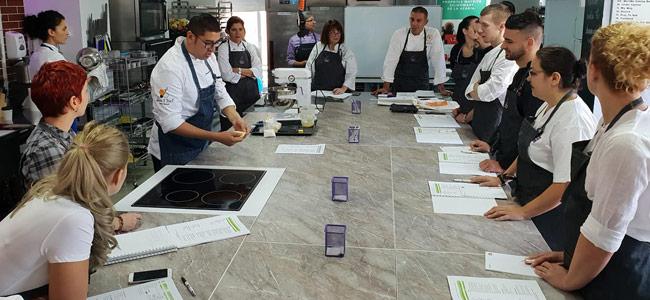 Horeca Culinary School invites seven international pastry chefs in 2019