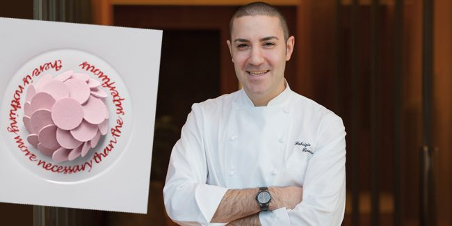 Fabrizio Fiorani is the new Asia's Best Pastry Chef