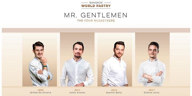 Fully Baked Story gathers four World Pastry Champions in Bangkok