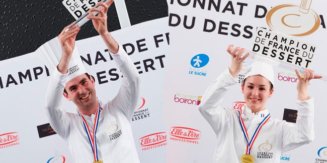 Yoann Normand and Marie-Diana Bourdil, the names of a brilliant Championnat du Dessert