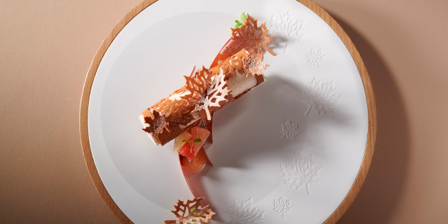 La Part des Anges with Chestnuts, Grapefruit, and Whiskey by Yoann Normand