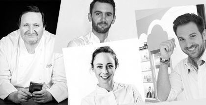 Some chefs that ewill be at a Taste of Paris