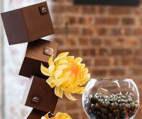 Chocolate flower Valrhona