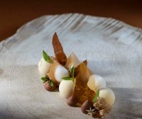 Goat cheese creation by Attila Meinhart
