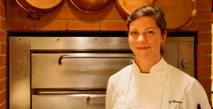 Carrie Lewis at Chez Panisse